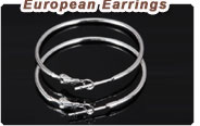 European beads Earrings