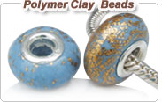 Polymer Clay polymer clay European beads