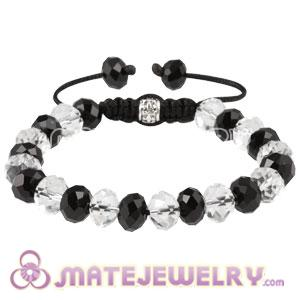 2011 hottest Sambarla style Bracelets With Faceted Crystal Glass Bead