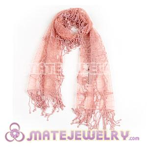 Wholesale Graceful Indian Rural Pastoral Style Shawls Scarf Lace Tassels Pashmina Scarves