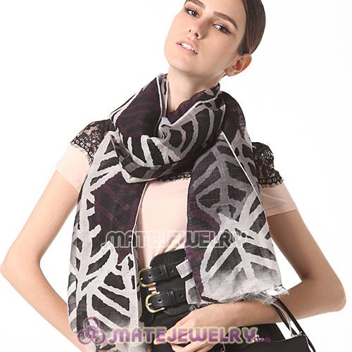 Infinity Silk Scarves Rural Pastoral Style Cashmere Wool Pashmina Scarf Shawls Wrap