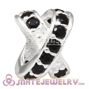 European 925 Sterling Silver X Together Charm Bead