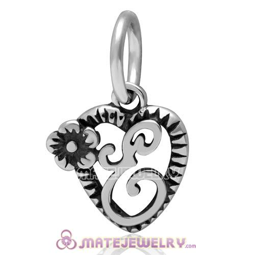 Sterling Silver Reflections Letter Y Bead