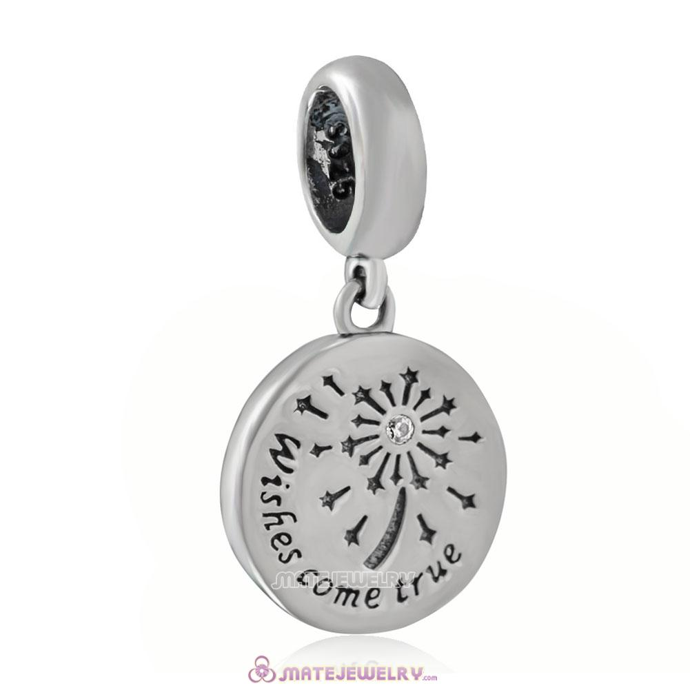 925 Sterling Silver Wishing Fireworks Charm