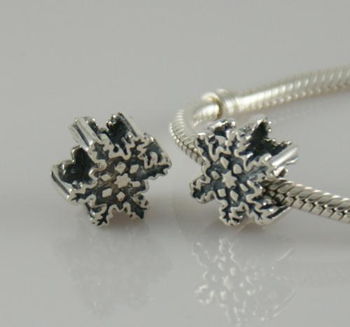 Chamilia Snowflake charm beads fit pandora