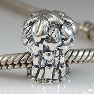 pandora style beads with tree charm design