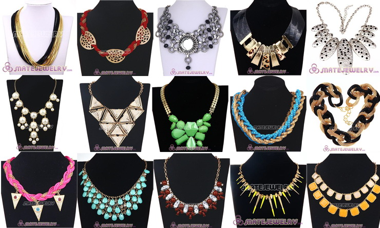 Wholesale Fashion Jewelry Cheap Cheap Statement Necklace