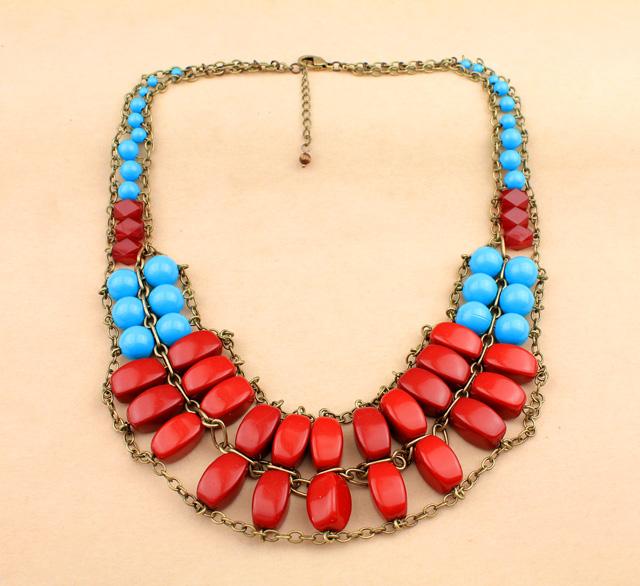 Bib Statement Necklace Jewelry Cheap