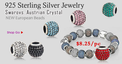 Austrian Crystal Pave Lights charm