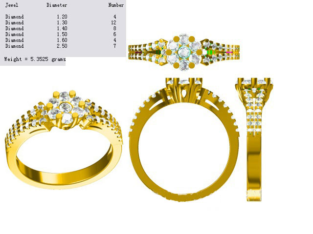 jewel cad design