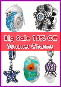 summer charm beads
