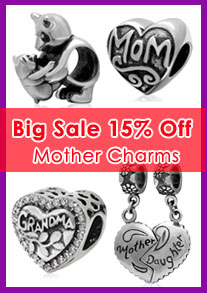 mother charm beads